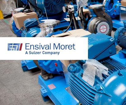 Новые горизонты с компаниями Ensival Moret и Sulzer
